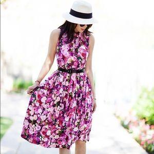 Kate Spade Rose Printed Dress